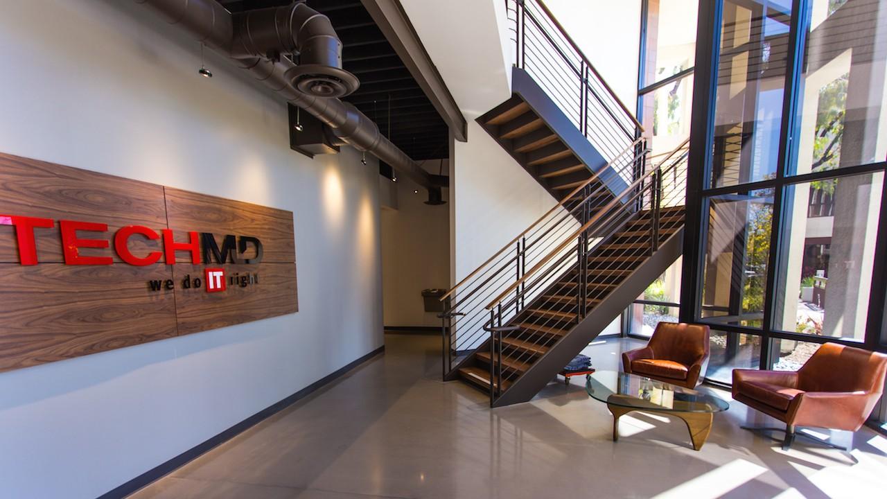 The TechMD lobby