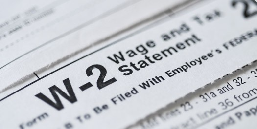 A W-2 Wage and Tax Statement